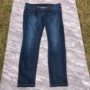 J Brand Dark Wash Blue Skinny Jeans in League 26
